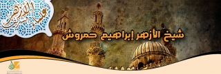 شيخ الأزهر إبراهيم حمروش